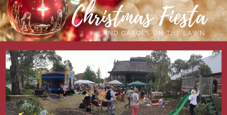 Christmas Fiesta and Carols on the Lawn